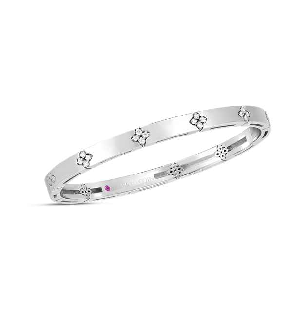 18KWG DIAMOND LOVE IN VERONA BANGLE