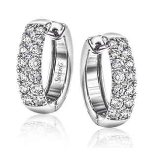 18KW Diamond Earrings