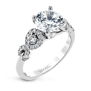 18KW Diamond Ring