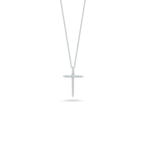CROSS PENDANT WITH DIAMONDS
