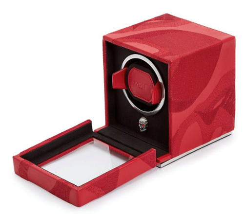 MEMENTO MORI CUB WATCH WINDER / RED