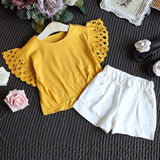 Stylish Summer Girls Outfit (2 colors)