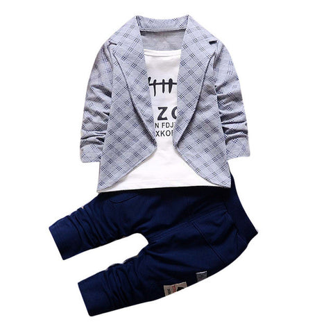 Smart Baby Boys Outfit set (4 colors)