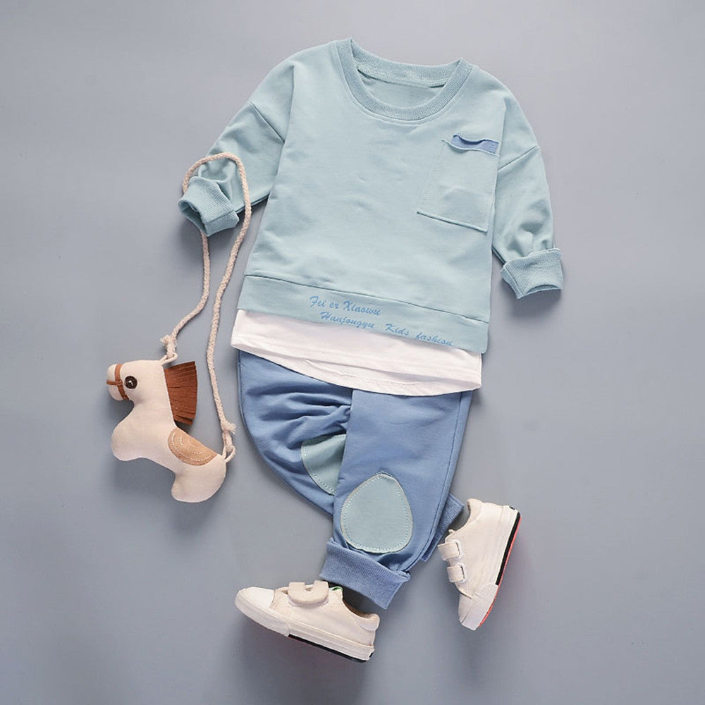 Casual Baby Boys Leisure Set