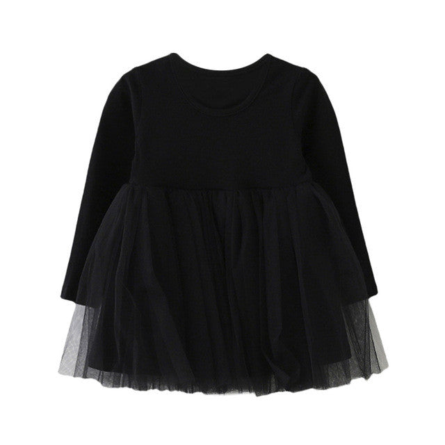 Casual Baby Girls Dress (3 colors)