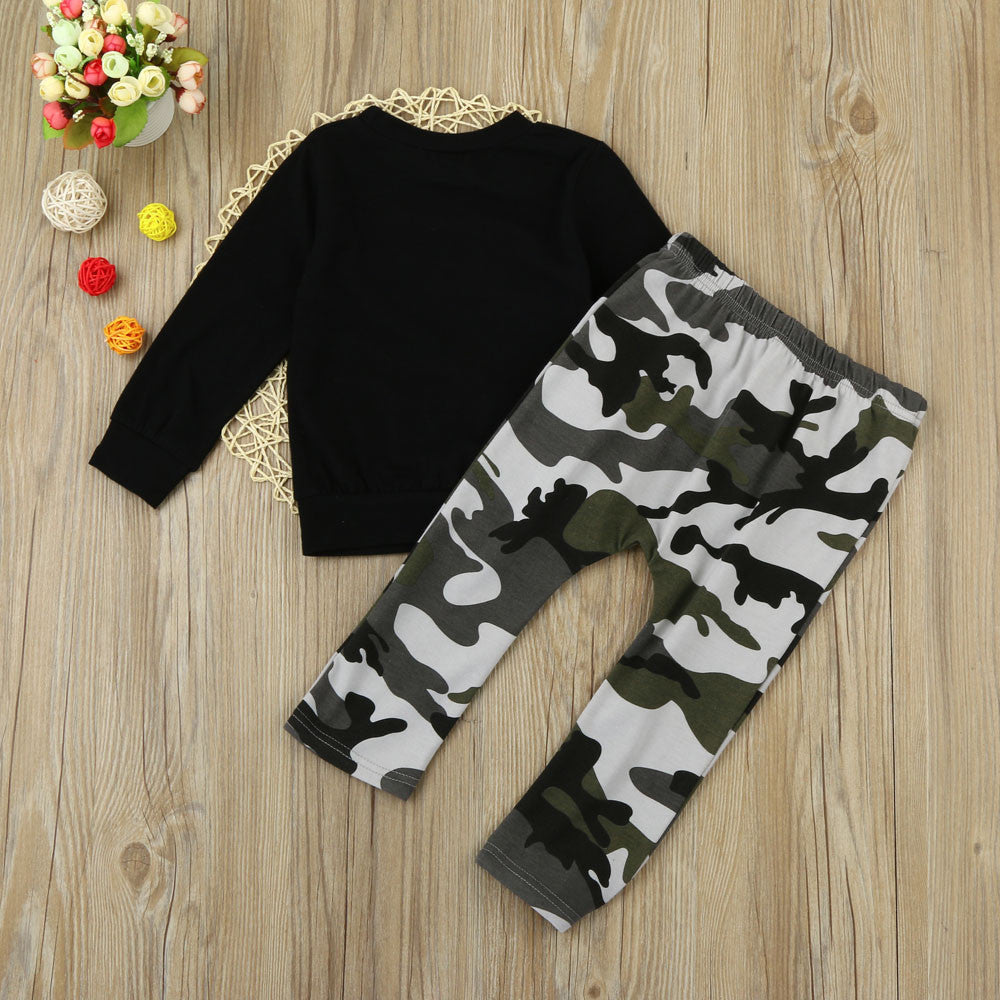 Lil' King Boys Sportwear Set