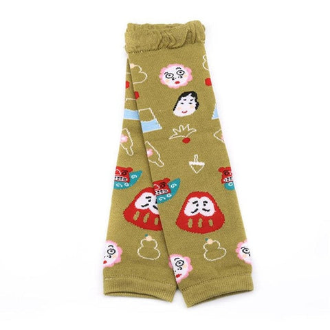 Cartoon Leg Warmers Unisex Socks (4 colors)