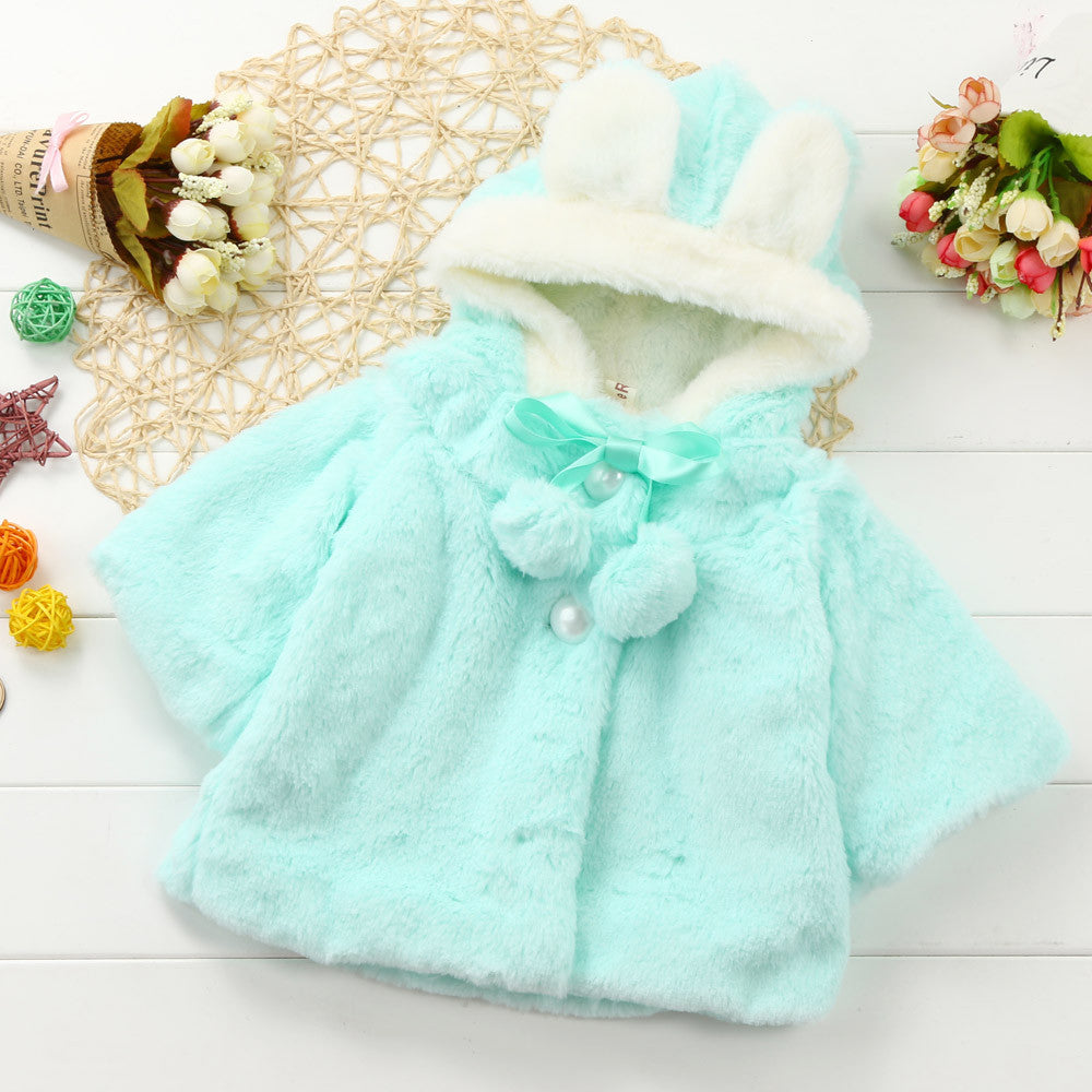 Bunny Baby Girls Jacket  (3 Colors)