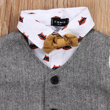 Stylish Camel Baby Boys Outfit