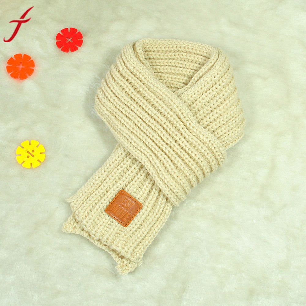 Baby Boy/Girl Knitted Scarf 10*110cm