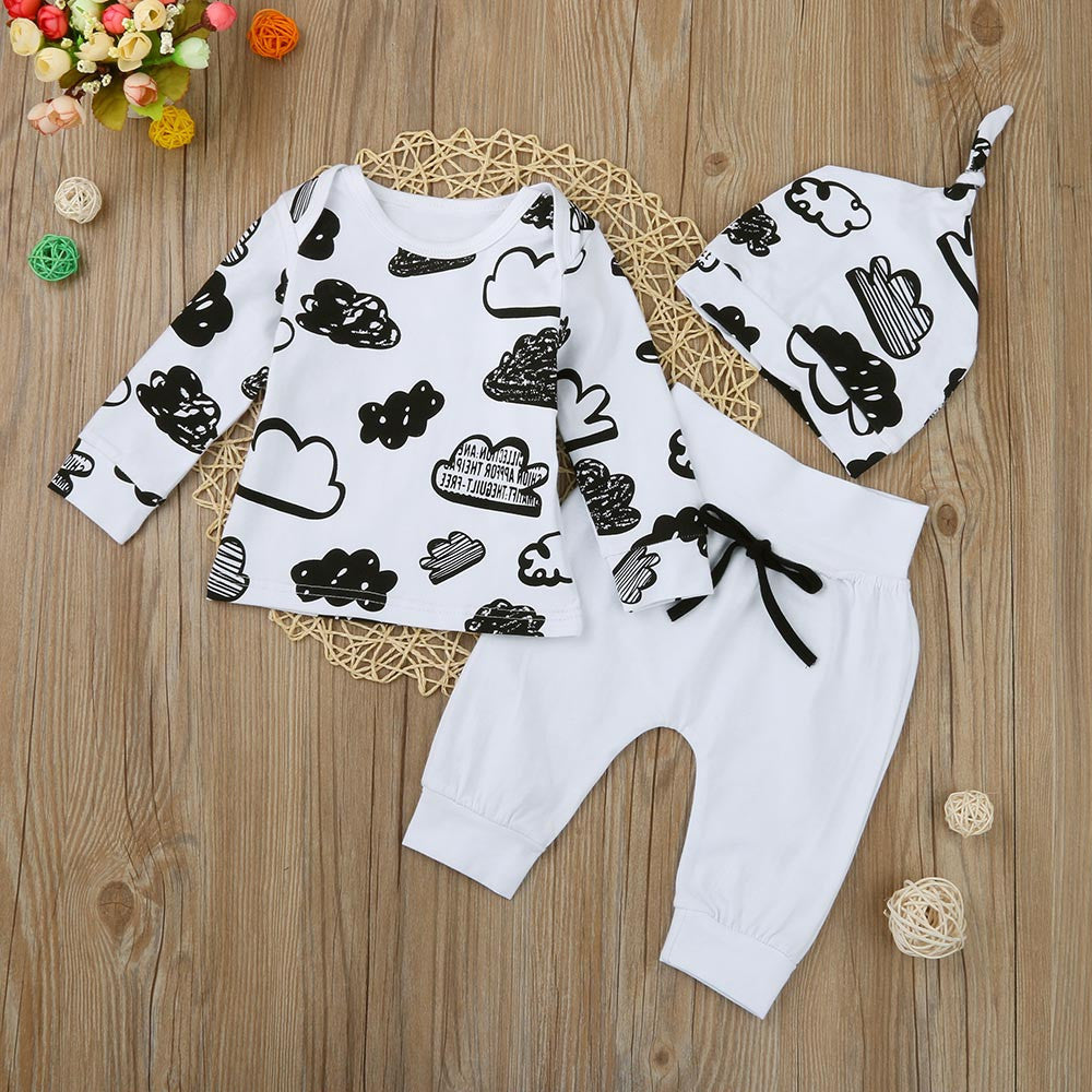 Girls & Boys 3pcs Sport Outfit