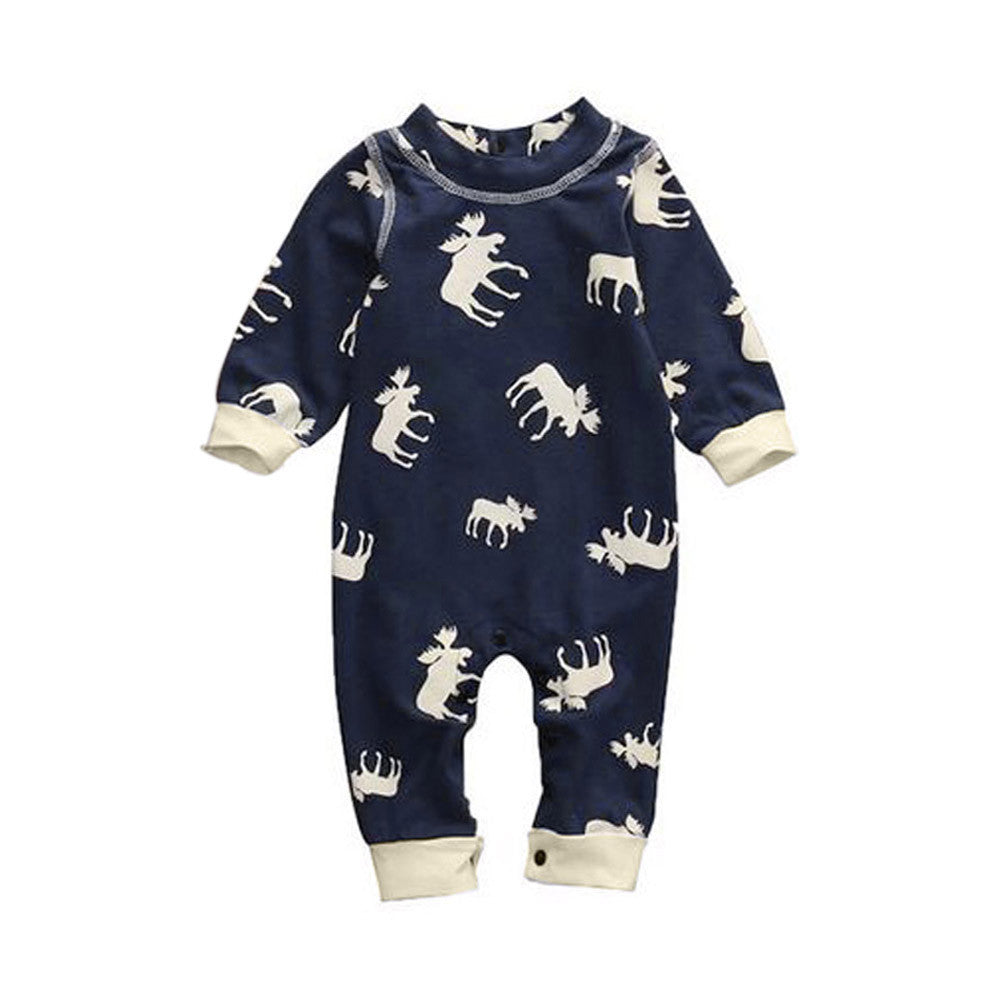 Baby Boys & Girls Deer Pajama