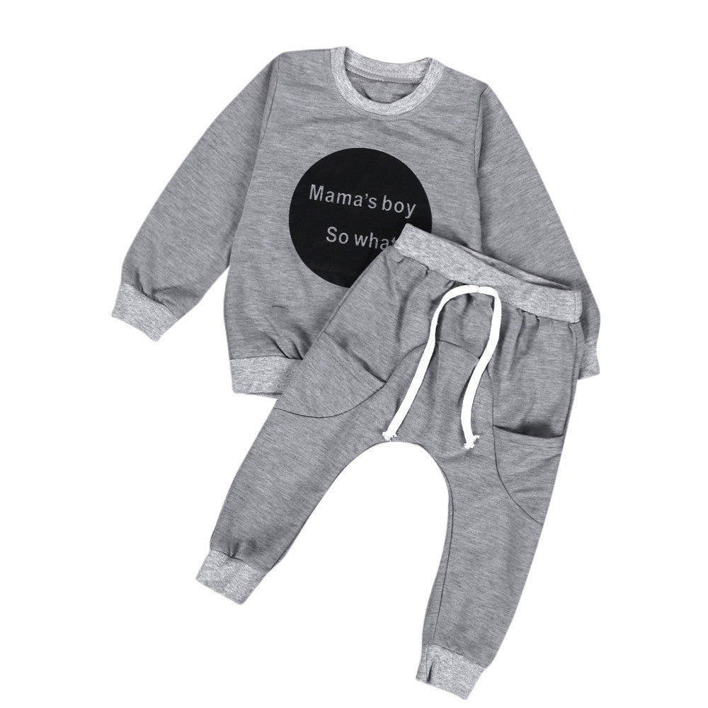 Mamas Baby Boy Sportswear Set (2 colors)