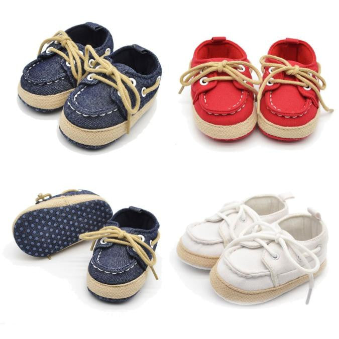 Denim Baby Boys Shoes (3 colors)