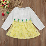 Leaves Baby Girls Dress (2 Colors)