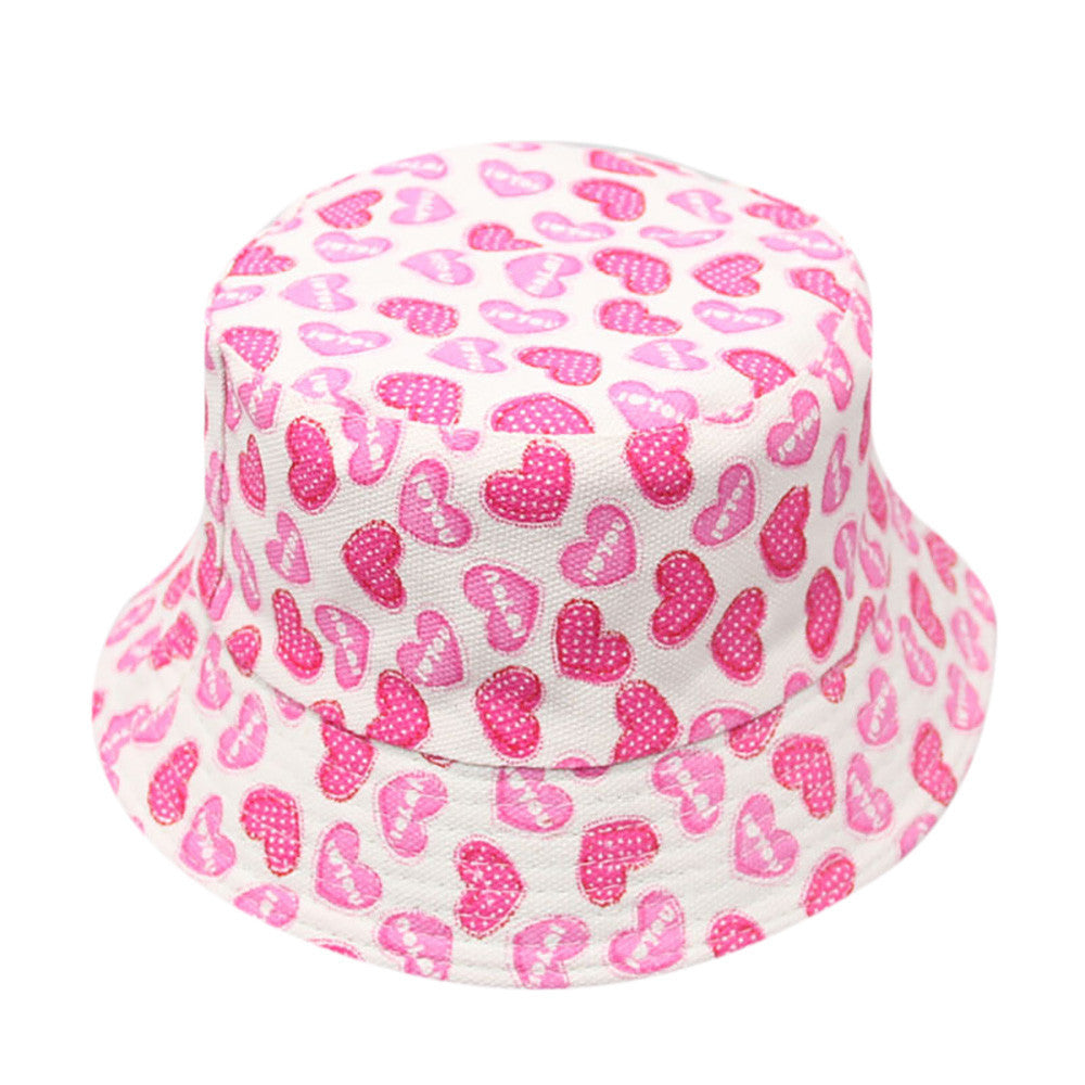 Floral Bucket Girls Hat