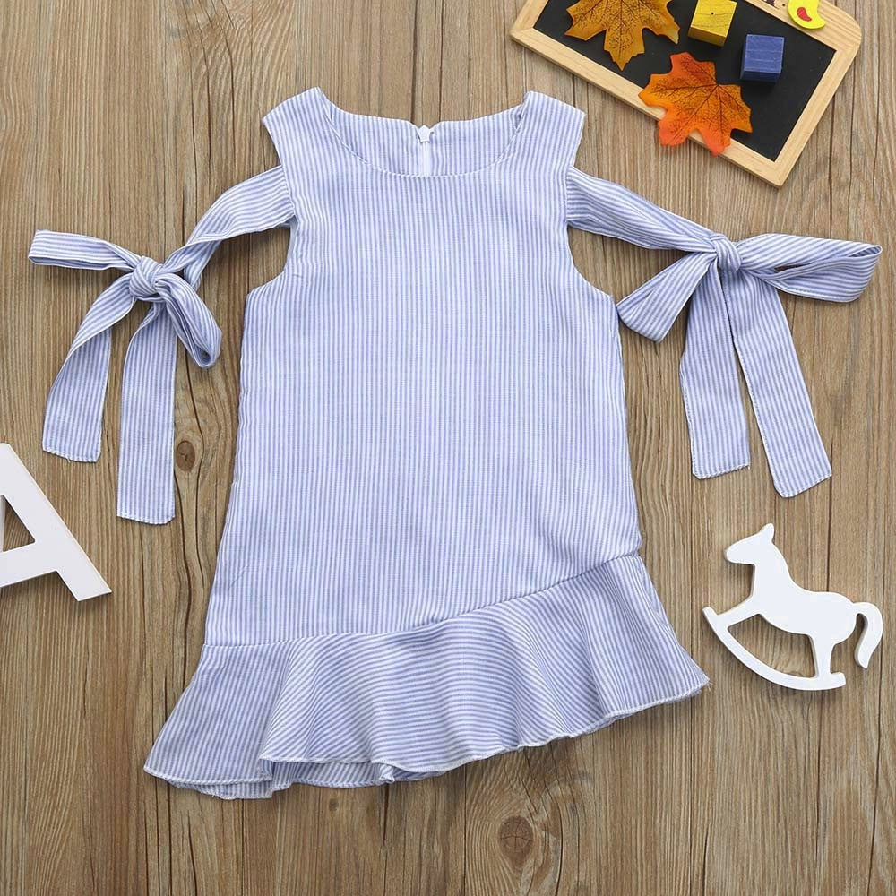 Stylish Strap Baby Girls Dress