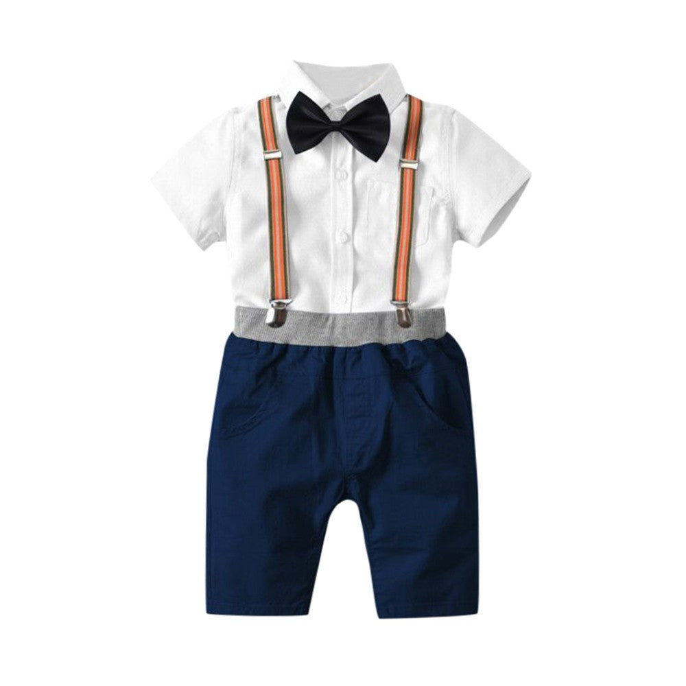 Classic Smart Boys Outfit set (2 colors)