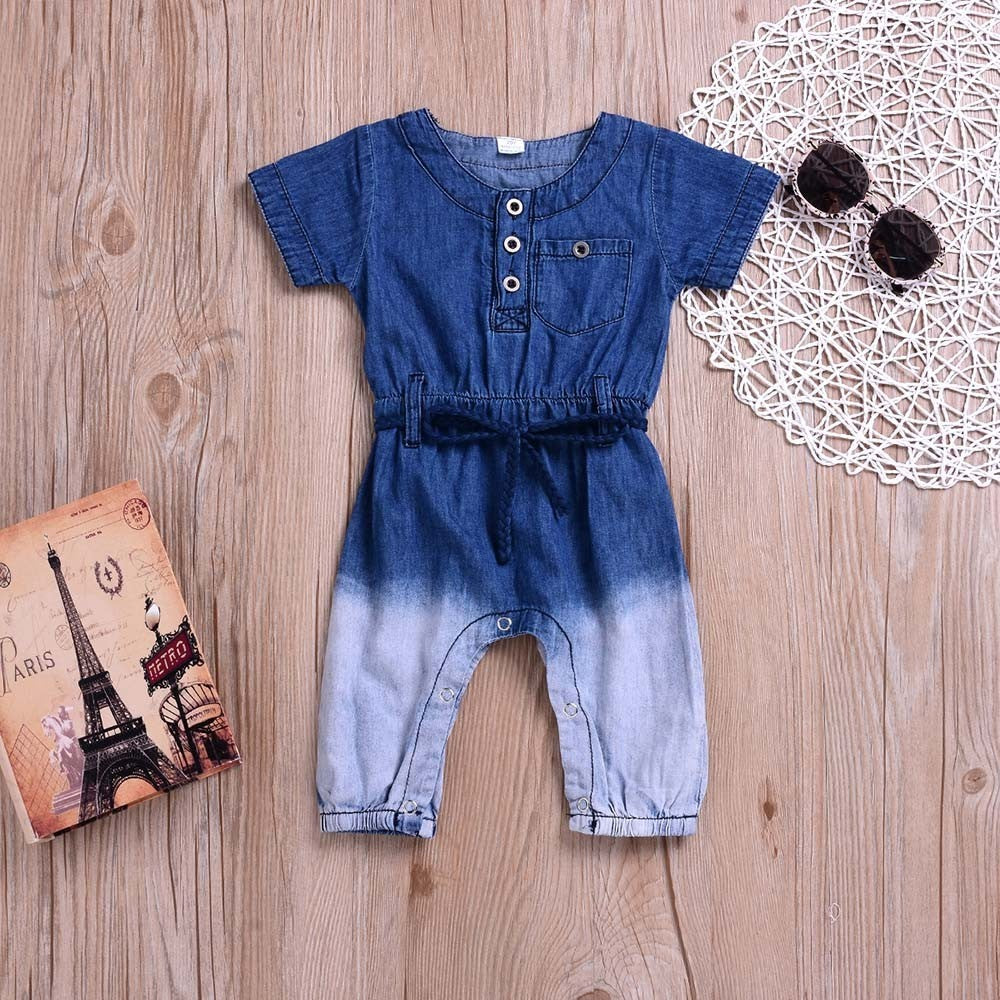 Jean Baby Girls Outfit