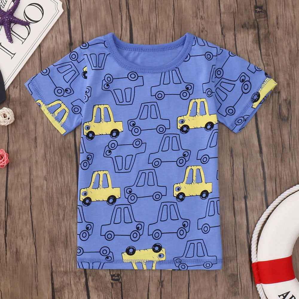 Boys T-shirt Cars