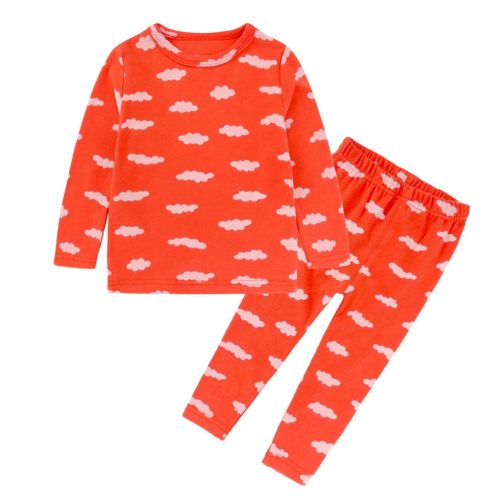 Clouds Girls Sleepwear Set