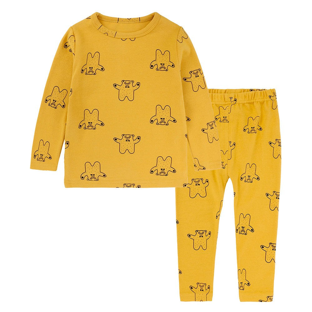 Cartoon Girls Sleepwear Set
