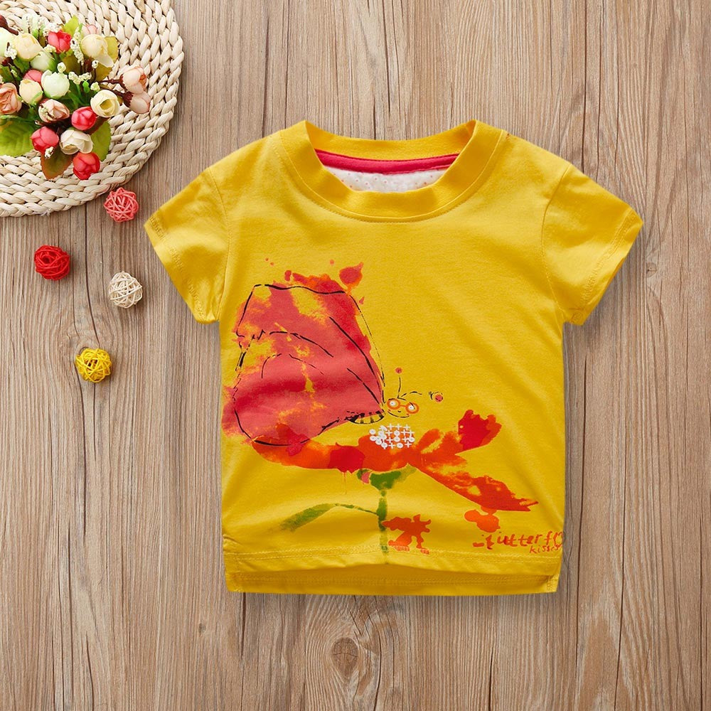 Boys T-shirt Colorful Art