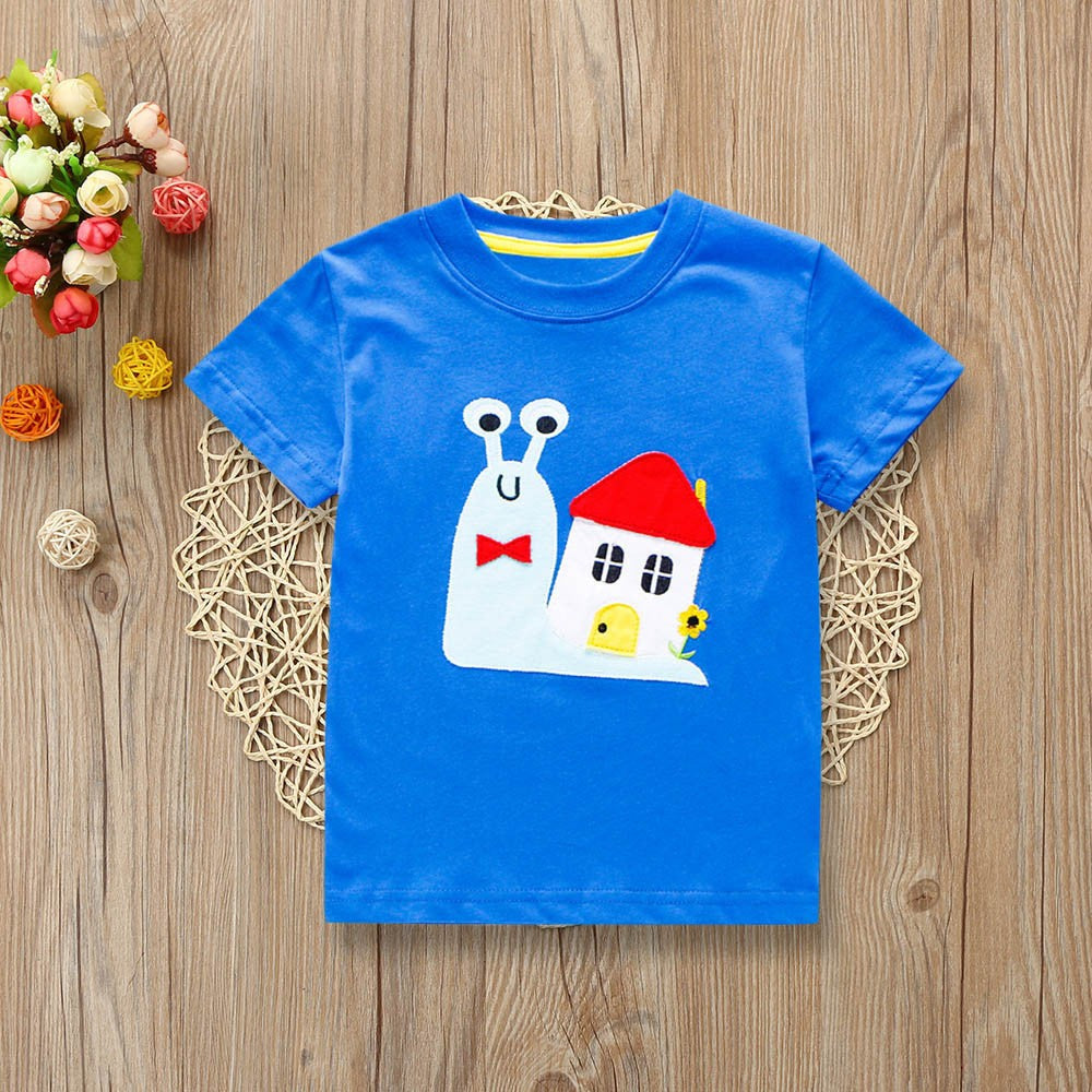 Boys T-shirt Snail