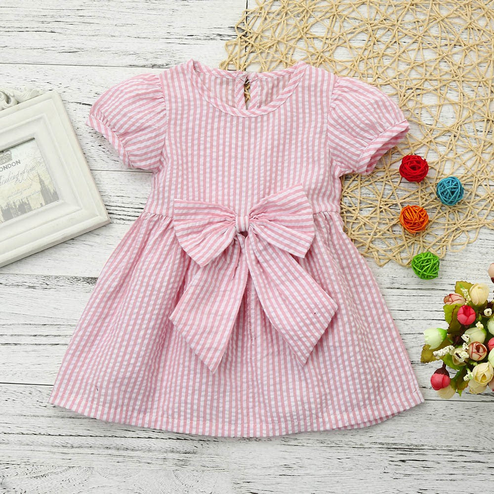 Classic Stylish Baby Girls Dress (2 Colors)