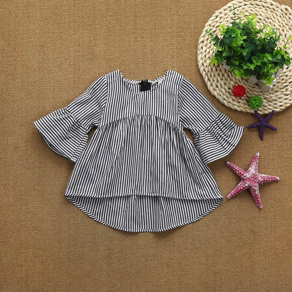 Stylish Line Baby Girls Dress