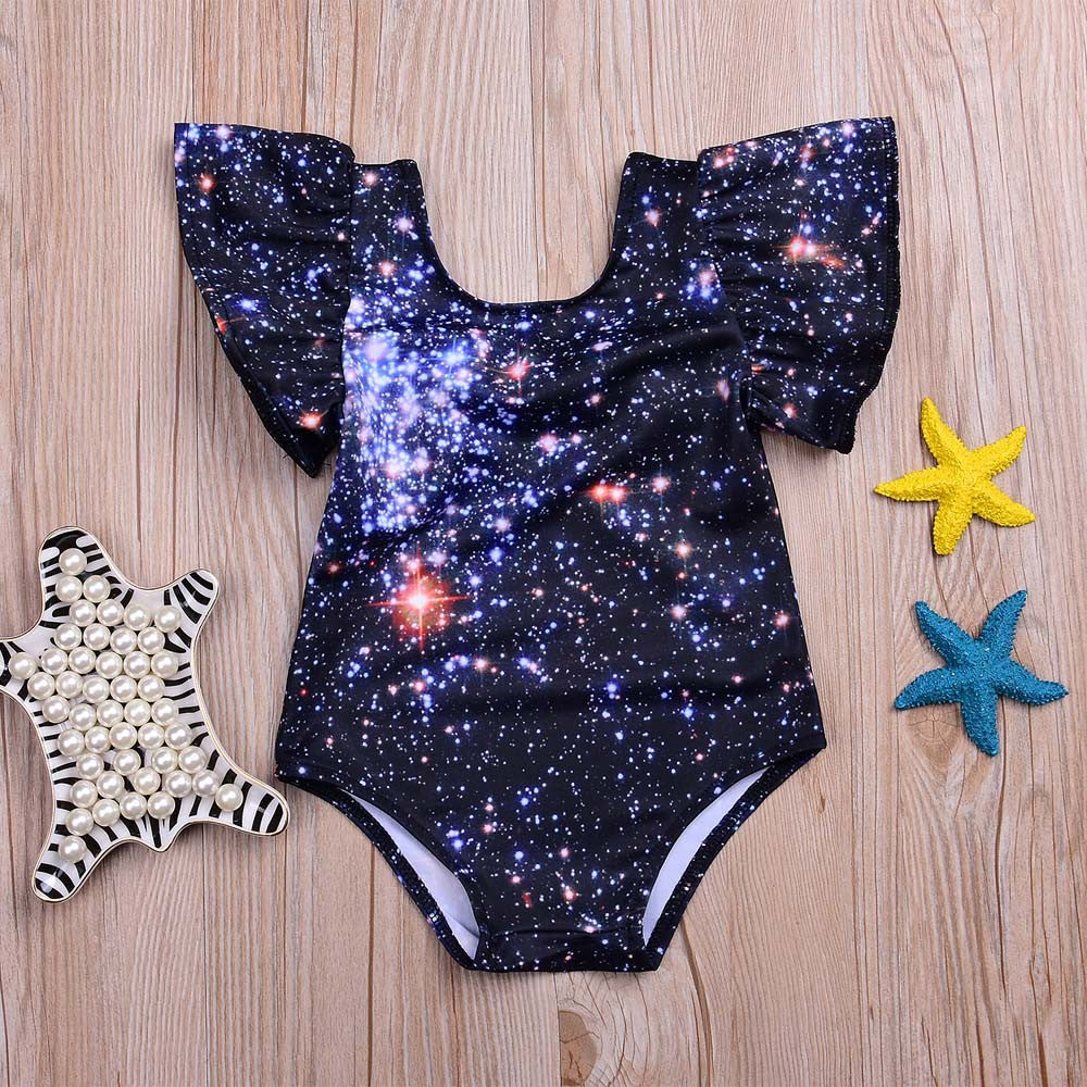 Stars Baby Girls Swimwear