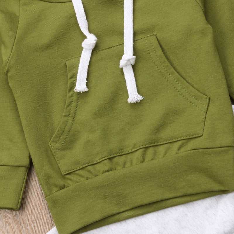 Sport Outfit - Hooded long sleeve