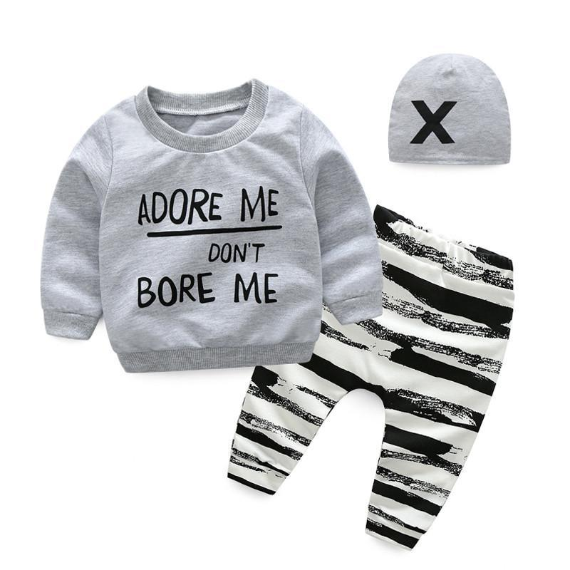 Boys T Shirt & Hat & Pants