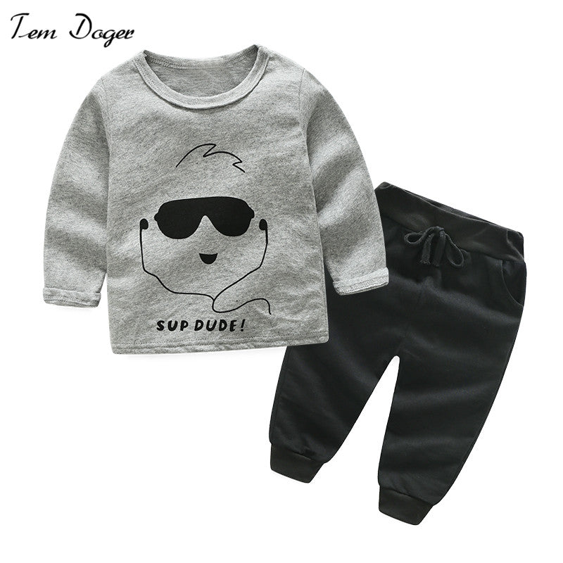 Boys Long Sleeve T Shirts & Pants