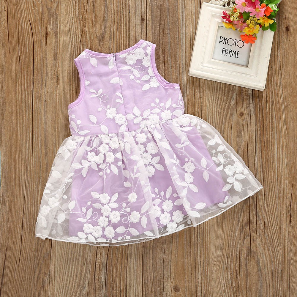 Princess Tuller Baby Girls Dress