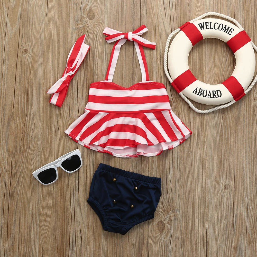 Fashion Baby Girls Swimwear