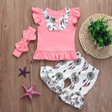 Wind-bell Baby Girls Outfit Set