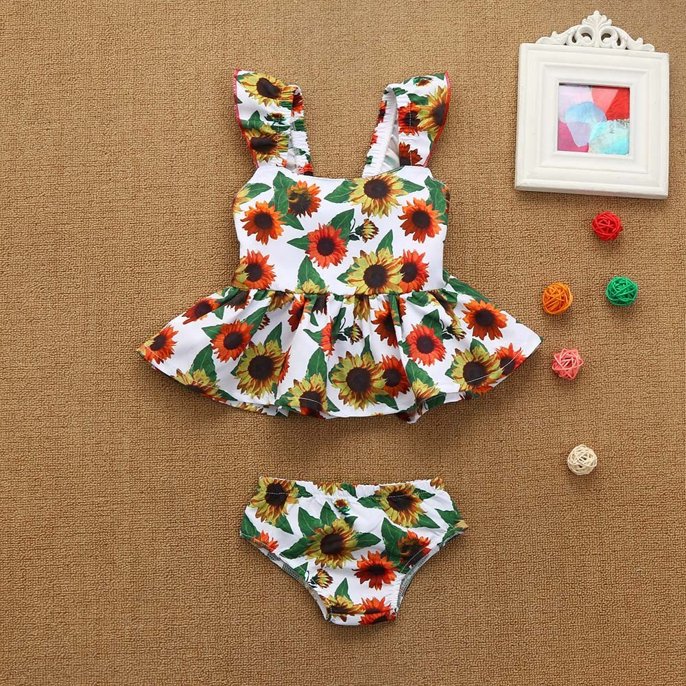 Sunflowers Baby Girls Dress