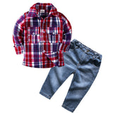 Casual Jean Boys Outfit Set