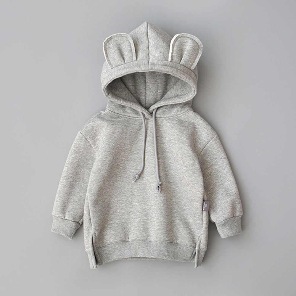 Cartoon Ear Baby Girls Hoodie (4 Colors)
