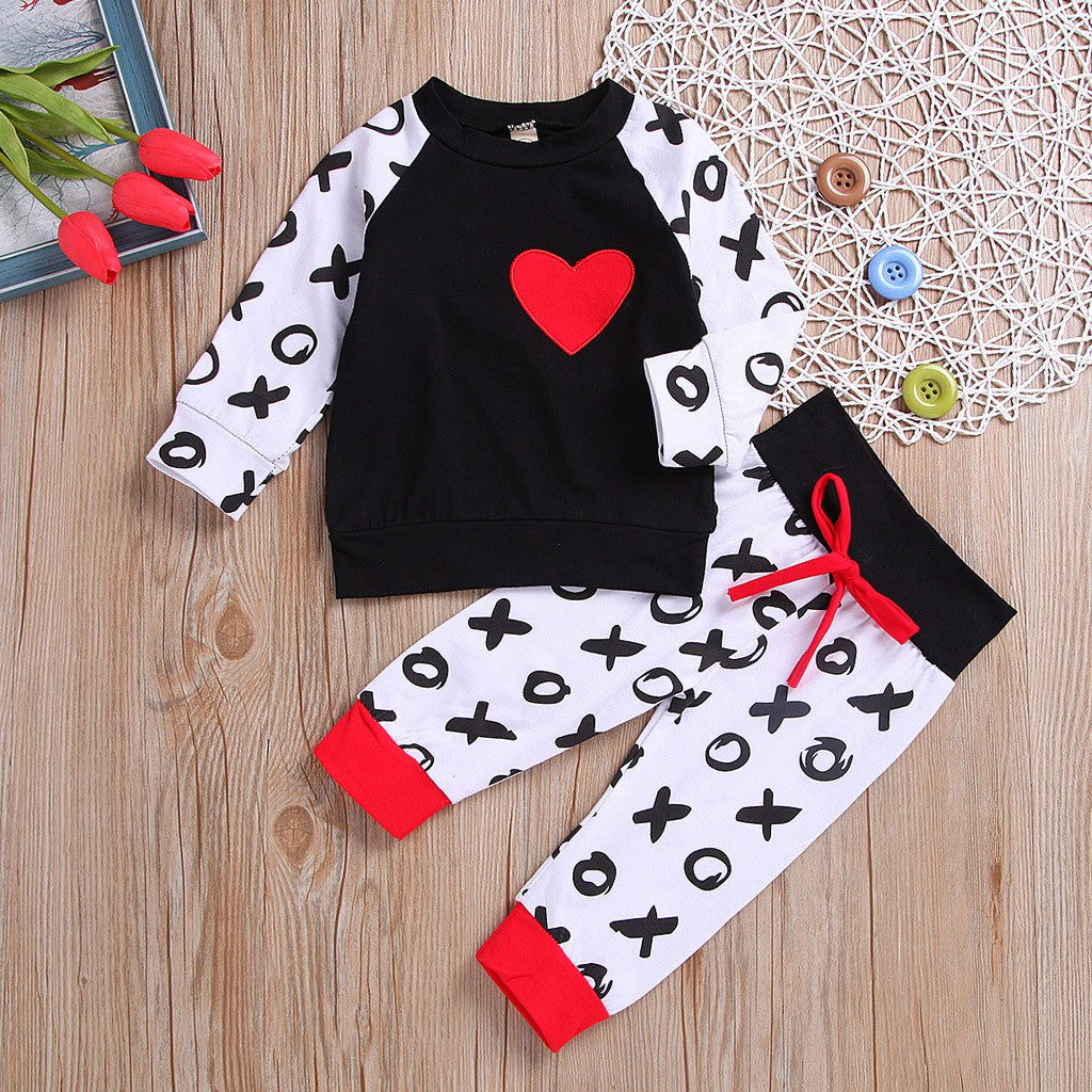 Baby Girl Sportwear - Heart