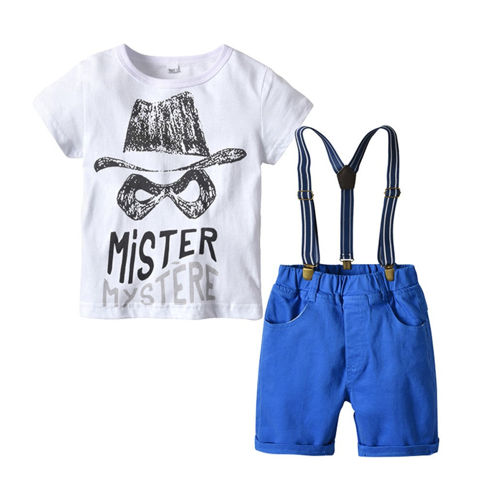 Mister Mystere Boys Outfit Set