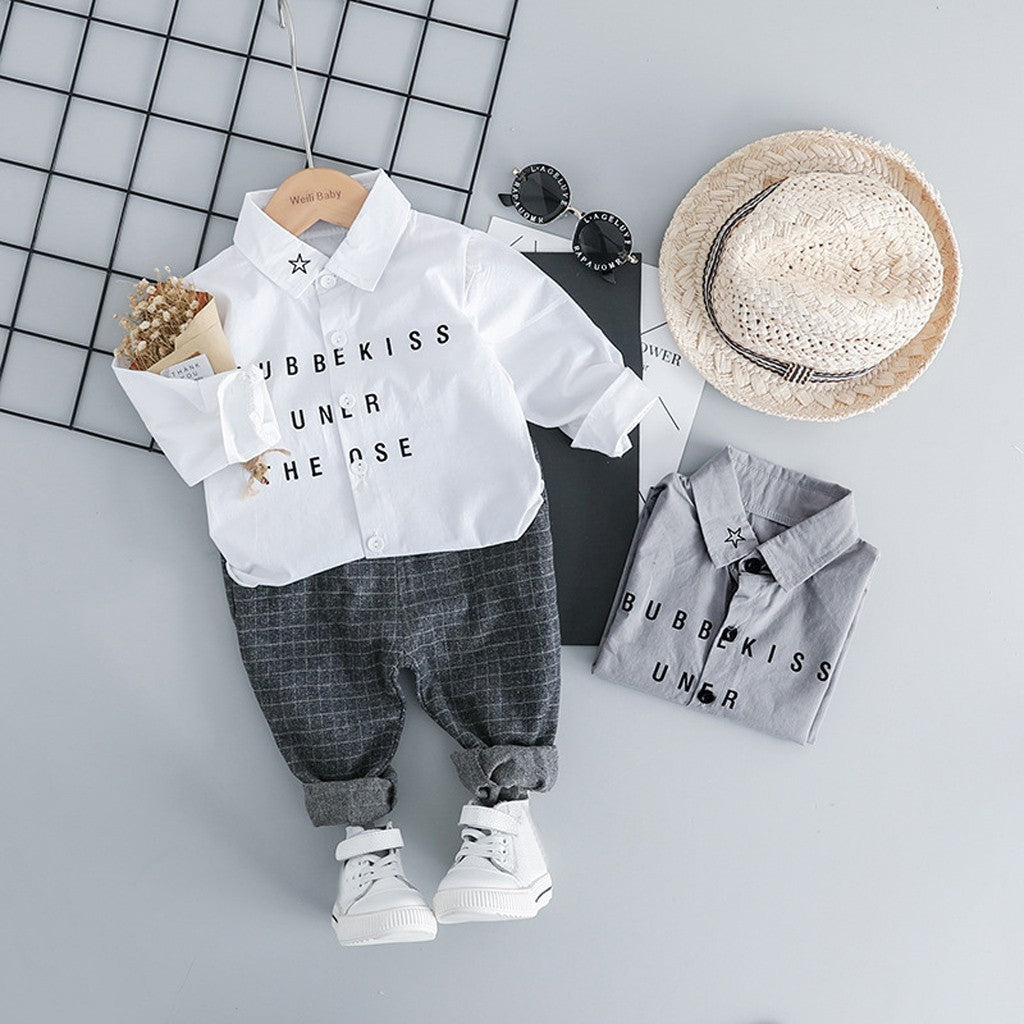 Gentleman Baby Boys Outfit set (2 colors)