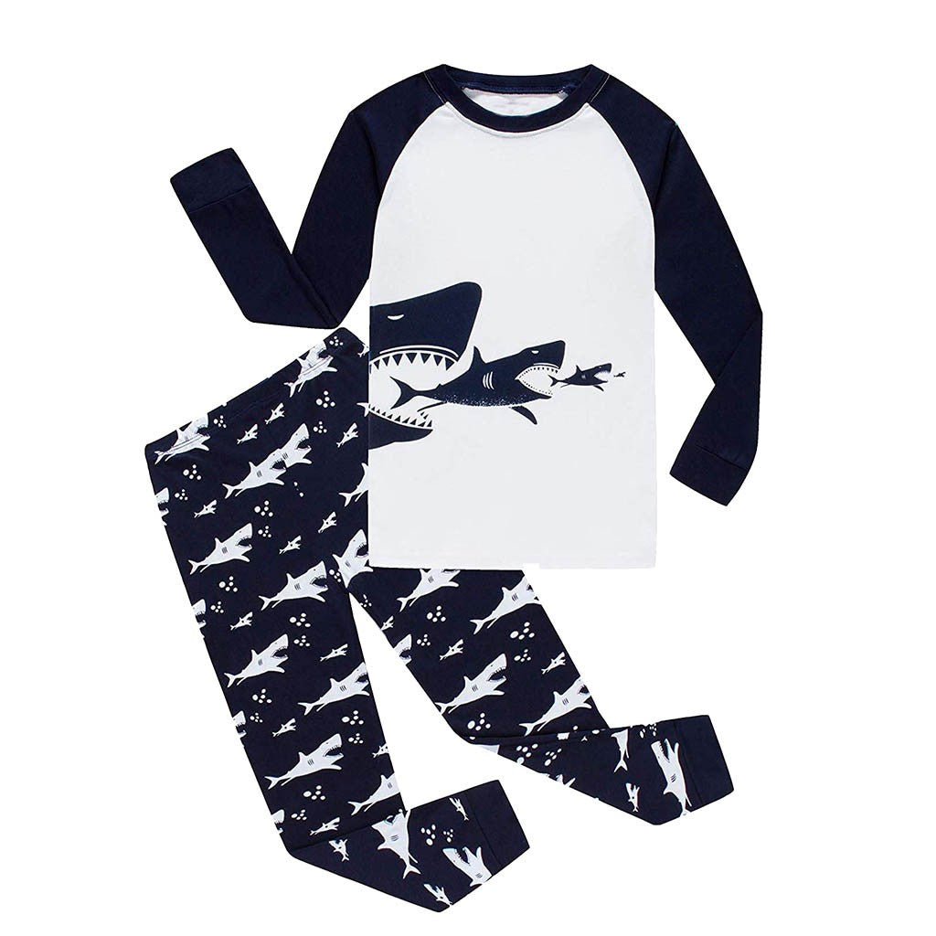Shark Boys Sleepwear Set