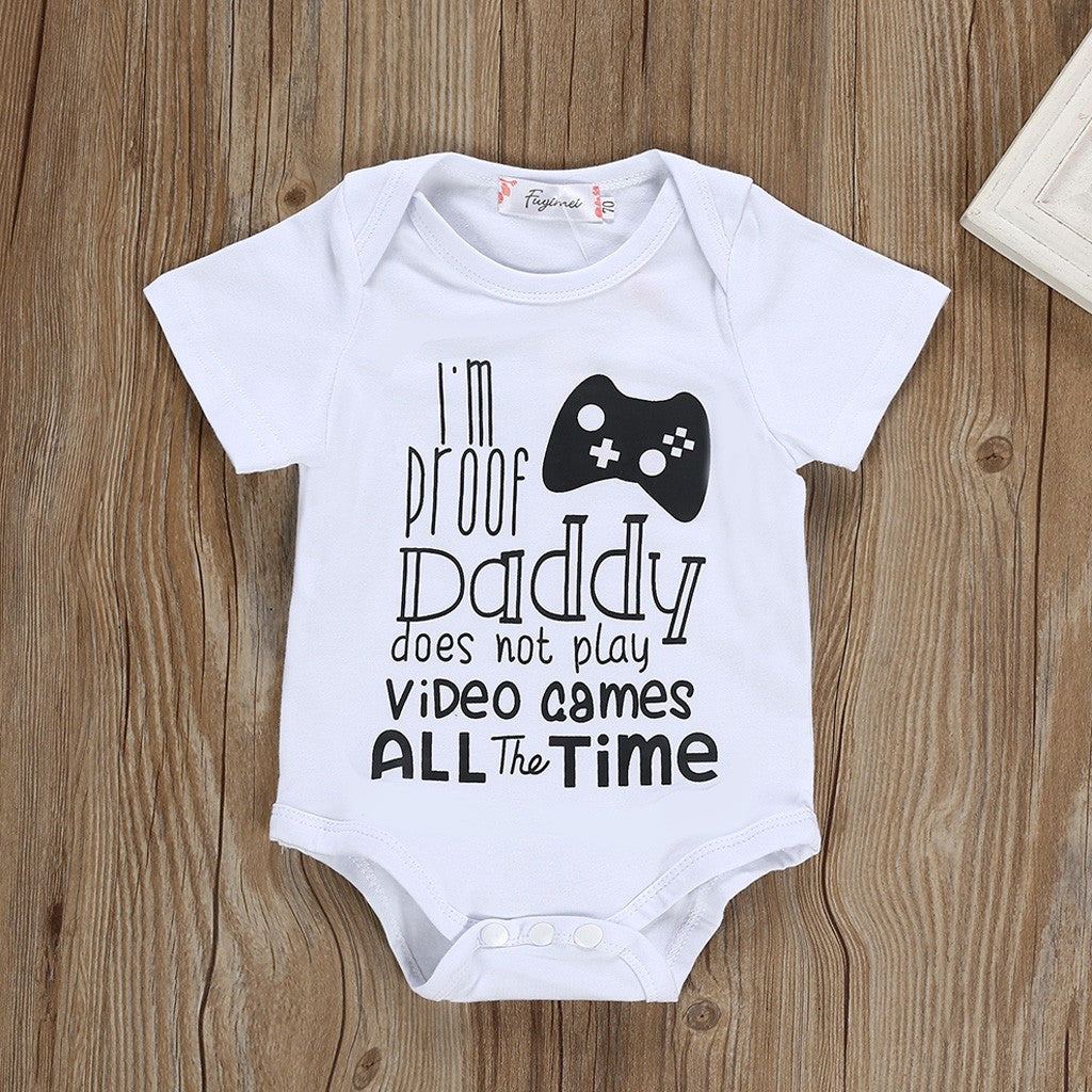 Baby Bodysuit Video Games