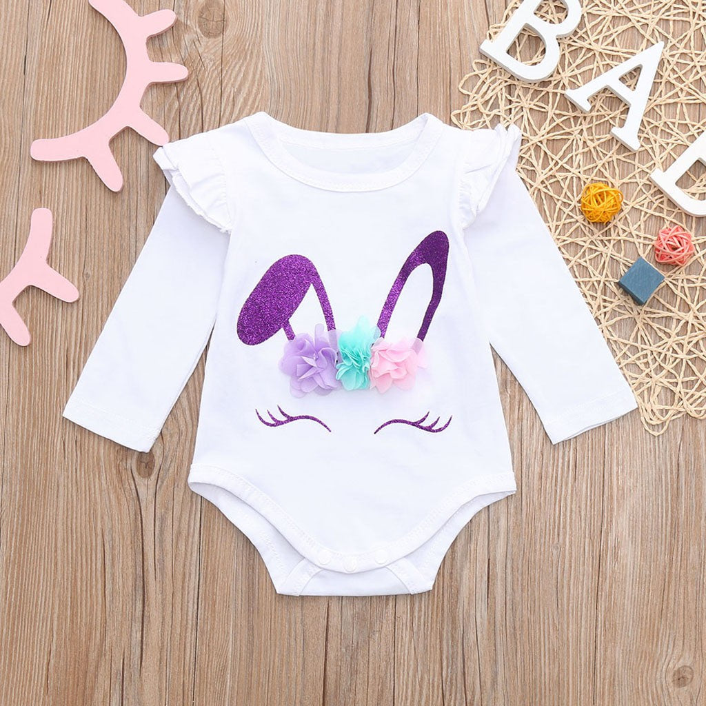 Rabbit Unisex Baby Bodysuit