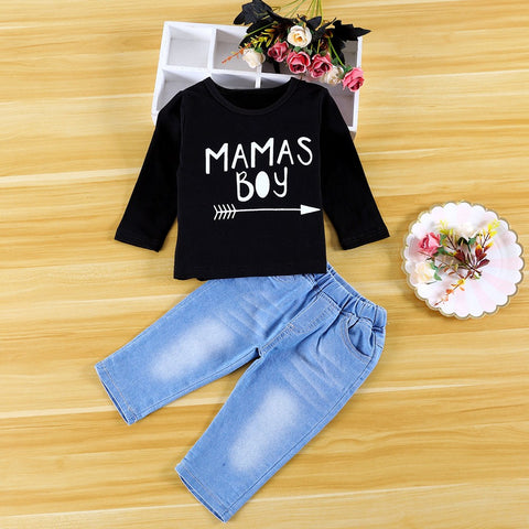 Mamas Baby Boys Jean Outfit