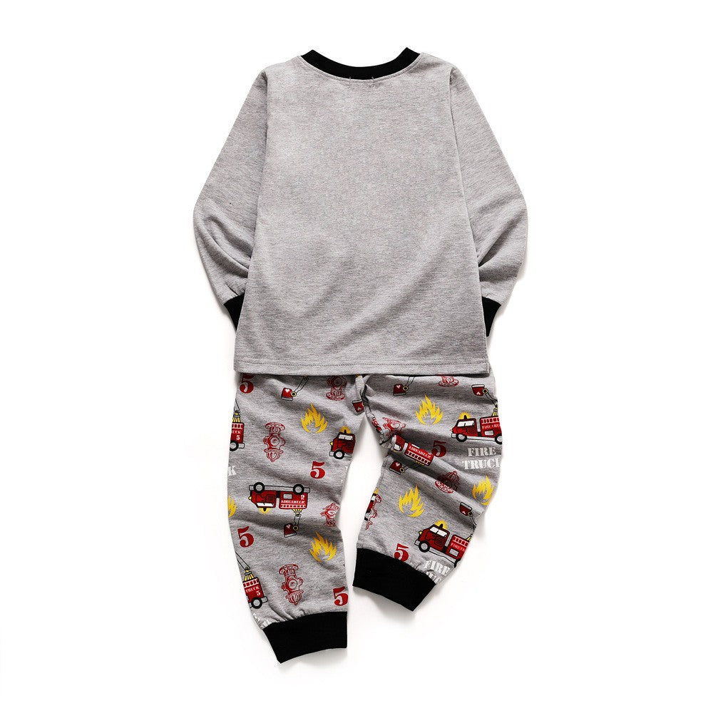 Firetruck Boys Sleepwear Set