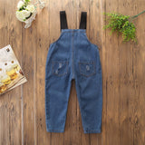 Casual Unisex Jean Overall Outfit
