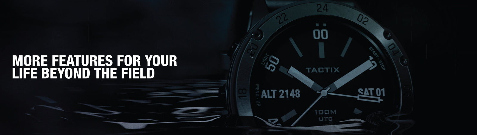 Garmin tactix Delta Sapphire Edition - More features for your life beyond the field.